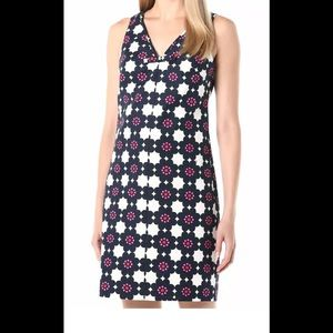 Trina Turk Jungle Island V-Neck Shit Dress, Size 2